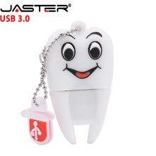 Pen-Drive Tooth-Flash Usb Dentist Teeth Model Memory-Stick U-Disk Jaster-3.0 Gift Cute