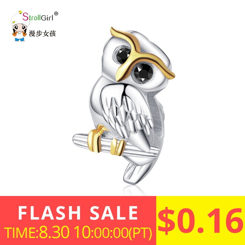 Strollgirl Charms Beads Jewelry Diy Bracelet 925-Sterling-Silver Valentine Gift for Lover