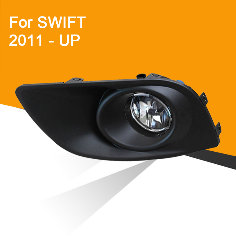 Car Fog Lamp Assembly For Suzuki Swift 2011 2012 - Up Front Bumper Fog Light With Switch Cover Wire Fog Lamp Kit