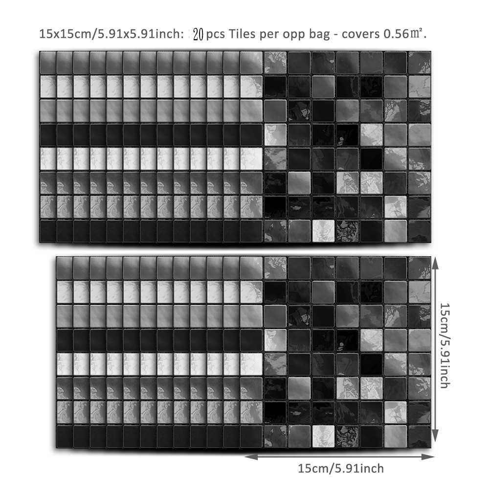 Tile Stickers Tile Picture Tile Decal Sticker Tiles Imitation Mosaic Decoration