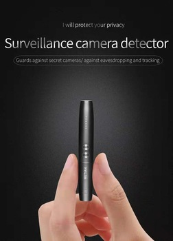 Hidden Cam Pen Anti Spy Camera Detector Bug Gadget Wireless RF Signal Finder Audio GSM Anti GPS Car Tracking Wiretapping Scanner 1