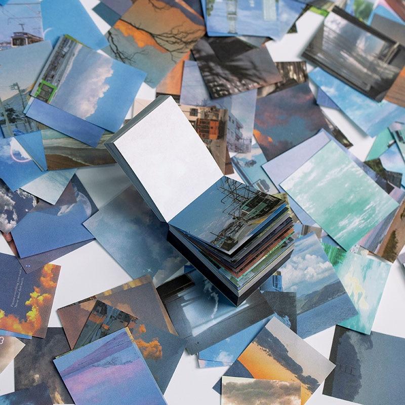 400 blätter Retor Material Papier Vintage Schreiben Papier Karten Scrapbooking/Karte, Der/Journaling Projekt DIY Tagebuch Dekoration