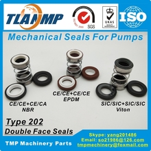 Mechanical-Seals Shaft-Size TLANMP Outersize-Of-Seat 51mm Ce-Ca-Nbr 202-35 35mm Double-Face