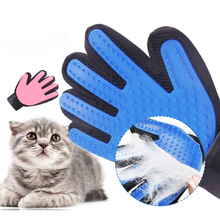 Dog/cat grooming glove for cats wool Pet Hair Deshedding Brush Comb Glove For Dog Cleaning Massage