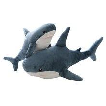 Мягкая игрушка Акула Большой размер забавная мягкая Кусачка