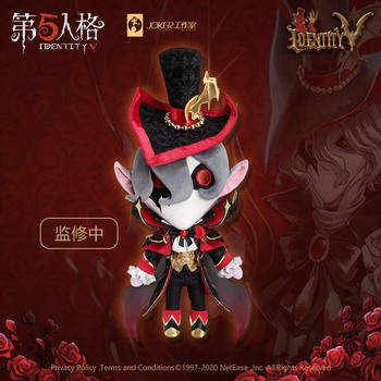 2021 Anime Game Identity V Hunter The Ripper Artist Jack Dolls Pillow Plush Stuffed Change Clothing Plushie Toy Cosplay Gift