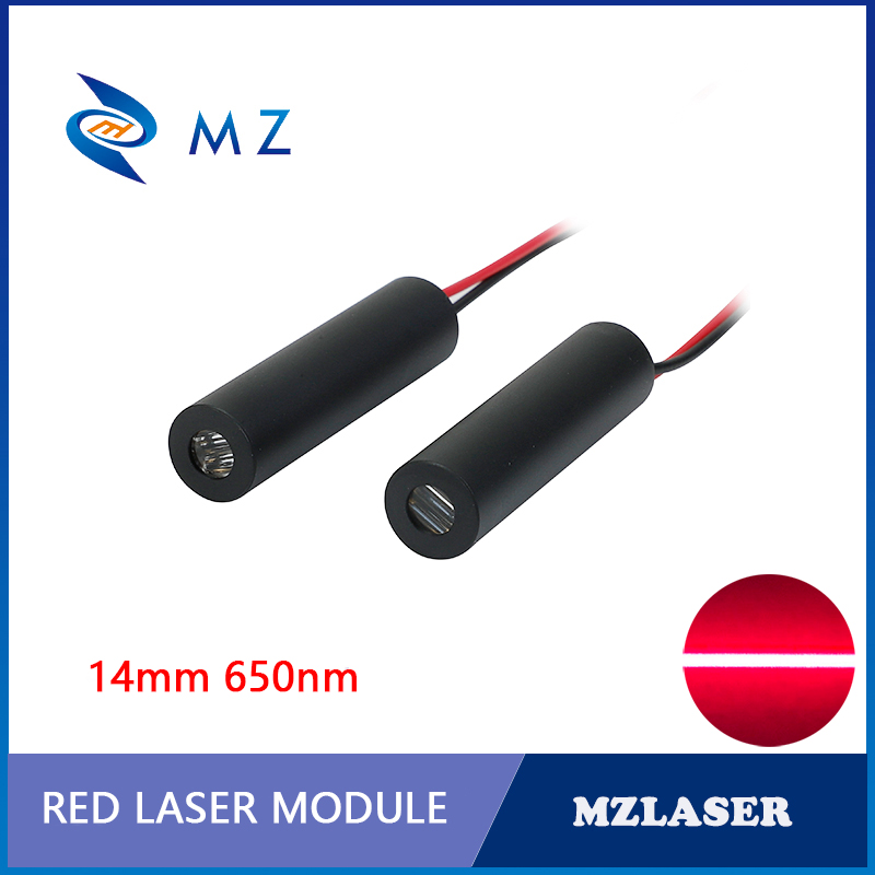 14mm 650nm 5 Or 10mw  Line Laser Module Red Laser Module  APC Circuit Driver
