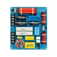 HiFi 350W Hause KTV Einstellbare Frequenz Teiler Zubehör DIY Werkzeug Für Lautsprecher Professionelle Ersatz 3-Weg Crossover Filter