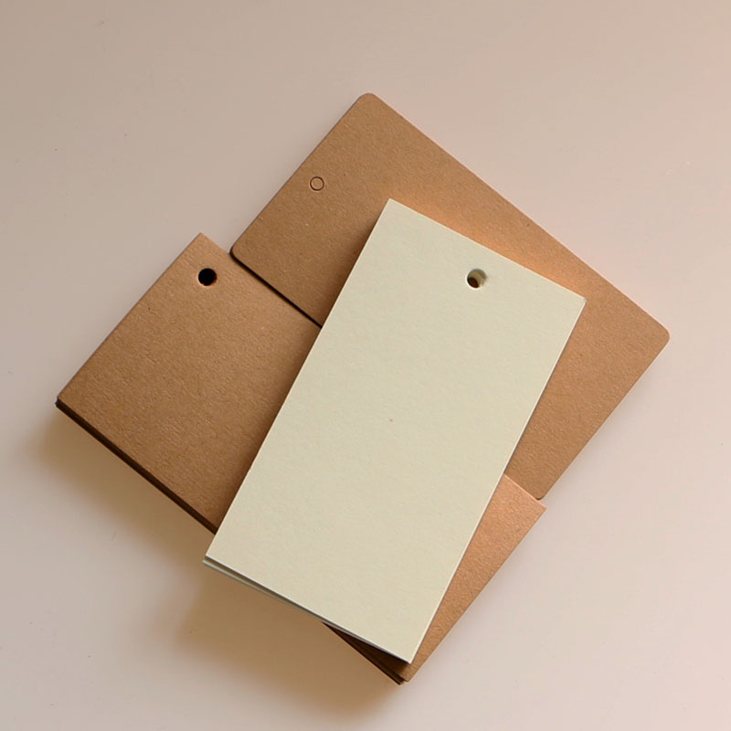 blank kraft gift tags cardboard pricing tags DIY notes tags brown paper labels 10pcs lot