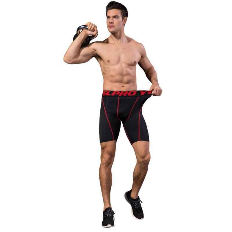 Pantalones cortos casuales de compresión para hombre, mallas, pantalones cortos de ejercicio de compresión prendas de vestir para hombre