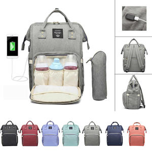 Travel Backpack Lequeen Baby-Bag Maternity-Nappy-Bag Large-Capacity Designer Mummy Fashion