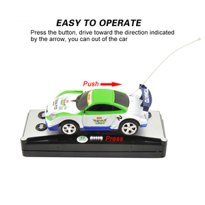 Image 3 - 8 Colors 20Km/h Coke Can Mini RC Car Radio Remote Control Micro Racing Car 4 Frequencies Toy For Kids Gifts RC Models Hot Sales