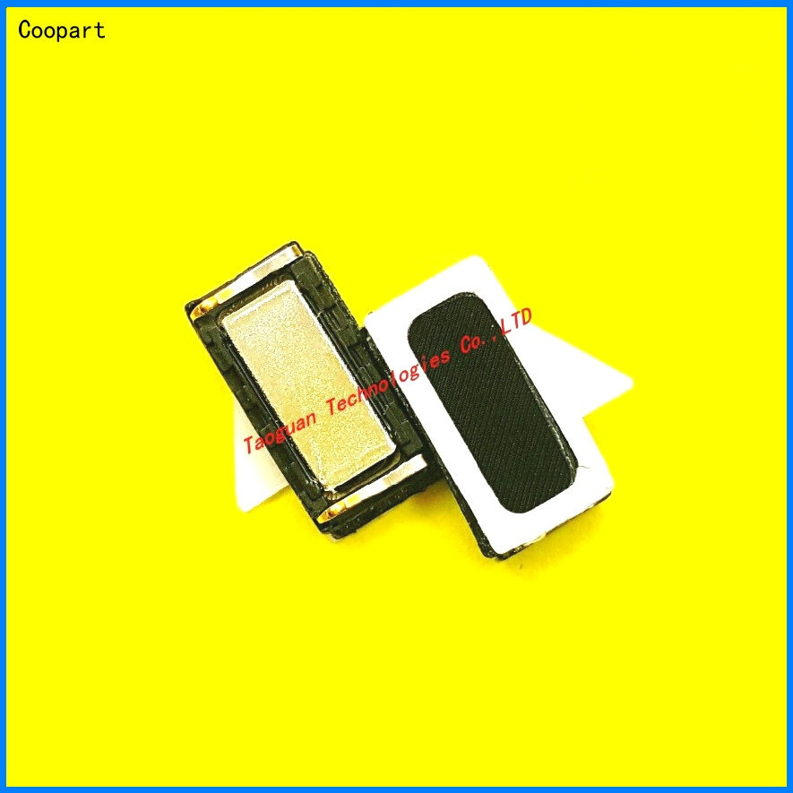 2pcs/lot Coopart New Earpiece Ear Receiver Speaker Replacement For Doogee Shoot 1 T5 Lite / Y300 F3 Pro F3pro Top Quality