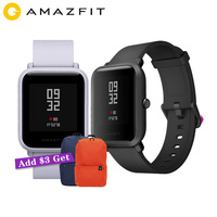 Xiaomi Amazfit Bip Smart Watch Huami GPS Smartwatch Android iOS Heart Rate Monitor 45 Days Battery Life IP68 + Xiaomi Backpack