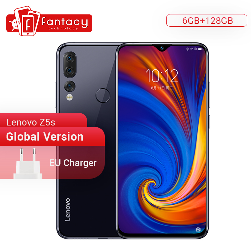 Global Version Lenovo Z5s 6GB 128GB Snapdragon 710 AIE Octa Core Smartphone 6.3