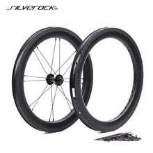 SILVEROCK Custom Carbon Wheels 16\
