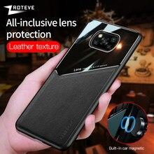 Poco X3 NFC Case Zroteve For Xiaomi Pocophone F2 Pro M3 X3 NFC Case PU Leather Xiomi Poco M3 F3 M2 Pro Cover Poco F2 Pro Cases