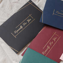 Envelopes Blank Christmas-Gift Love-Letter Thicken-Paper Greeting Business Or with Bronzing