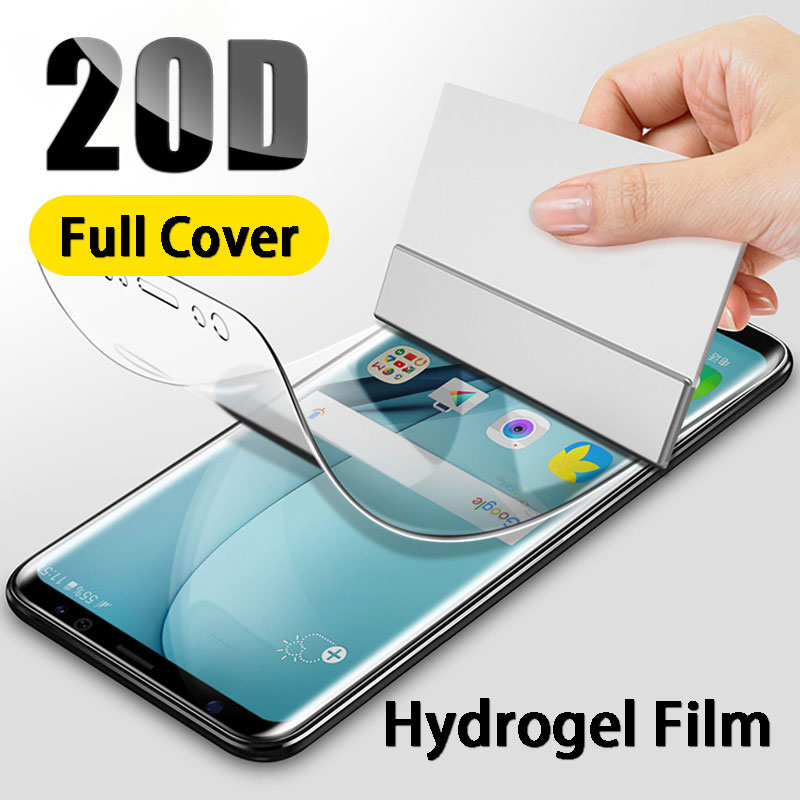 Full Cover Hydrogel Screen Protector For Samsung Galaxy S10 S9 S8 Plus S6 S7 Edge Protection Film For S10E Note 9 8 Not Glass