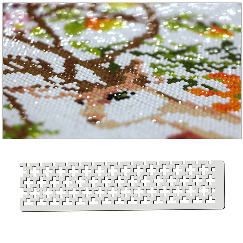 125 DIY Diamond Painting Tools Square Drill Cross Stitch Point Drill Ruler