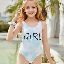 Lawehxf детская одежда в богемном стиле цельный купальник бикини