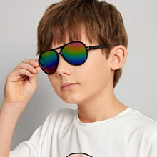 Kids Sunglasses Girls Fashion Boys UV400 Ce Gafas-De-Sol Nail Rice Toad And Baby Personality