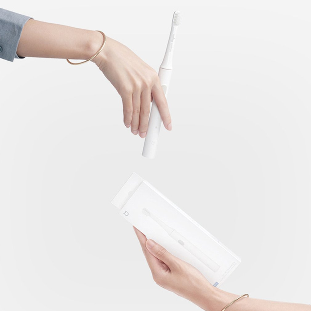 Xiaomi Sonic Electric Toothbrush Household Special T100 Male and Female Adult Waterproof Soft Brush Head Electric Toothbrush