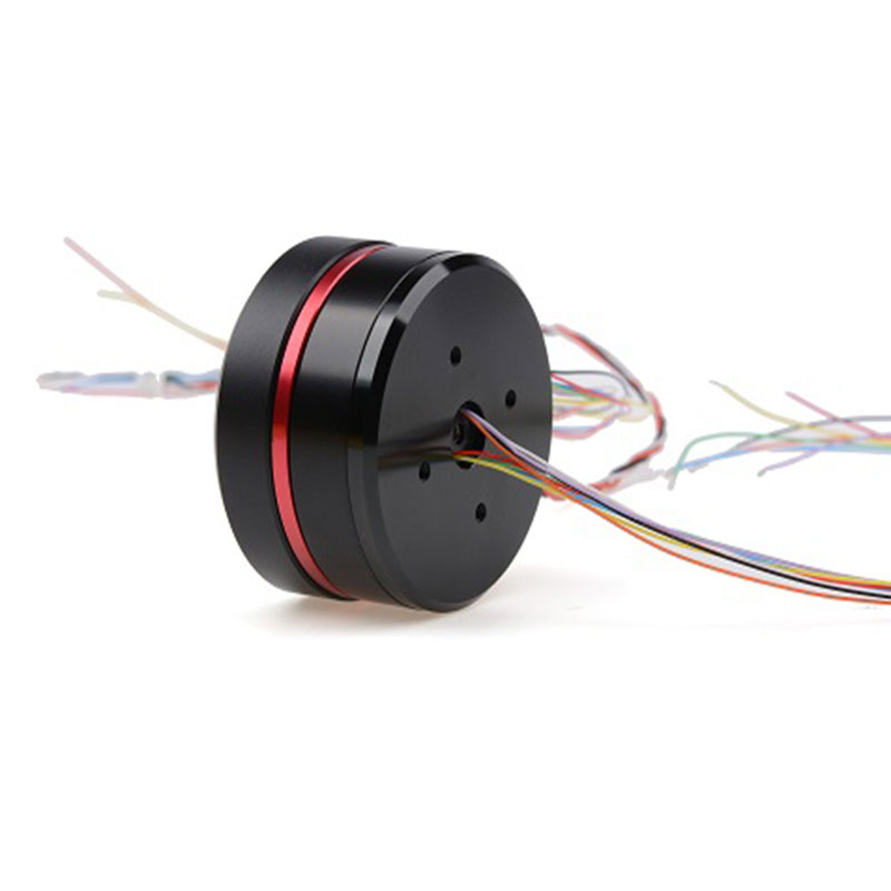 PM4108 PTZ Motor Photoelectric Pod With AS5048A Encoder Brushless Motor Center Hole Slip Ring Crossing Line