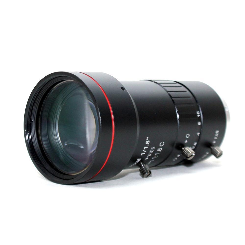 3,0 Megapixel 12 120mm HD CCTV objektiv F1.8 manuelle Iris Vario C mount objektiv Niedrigen Verzerrung FA objektiv für IP Kamera objektiv - 3