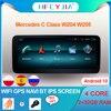4 rdzeń Android 10 System samochodowe Multimedia Stereo dla Mercedes Benz C GLC W204 W205 BT Google WIFI nawigacja GPS Radio ekran dotykowy IPS