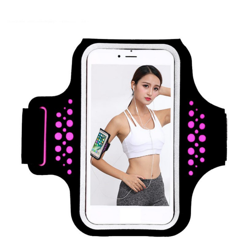 Portable Cycling Running Arm Bag Mobile Phone Arm Bag Touch Screen Waterproof Wrist Bag Outdoor Running Accessory