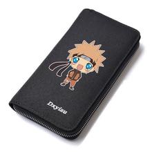 Cartoon Designer Naruto Uzumaki Naruto Wallets Men Vintage Large Capacity Male Purse