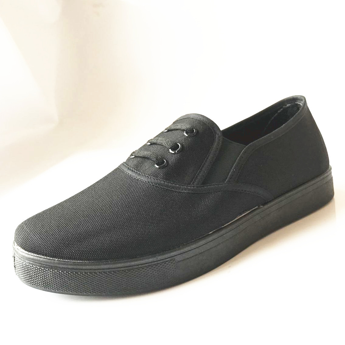 Yong shu Wear Wear See-New 87 Cloth Shoes Gas Canvas Shoes Rubber Sole Men Casual Shoes Elastic Band Mouth