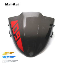 цена на MAIKAI For YAMAHA MT09 MT-09 FZ09 FZ-09 2018-2019 Motorcycle Windscreen Wind Deflector Windshield Sun Visor Visor Viser