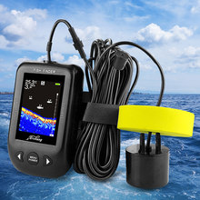 Russia Warehouse Erchang XF02C Fish Finder Sonar For Fishing 100M Portable Echo Sounder Fishing Finder Lake Sea Fishing