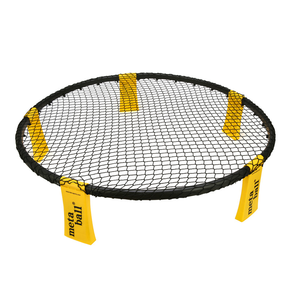 Mini Beach Volleyball Spike Ball Game Set Outdoor Team Sports Spikeball Lawn Fitness Equipment With 3 Balls Volleyball Net 4PCS