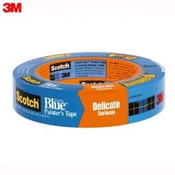 Cinta adhesiva 3M 2080-24 material de oficina y Escuela cintas adhesivas sujetadores ScotchBlue cinta para pintura para superficies delicadas azules