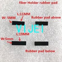FSM 60S 60R 22S FSM 70S FSM 80S 62S 19S 12S 70R Fiber fusion splicer Faser halter gummi pad/dichtung/Gummi dichtung Gummi matte
