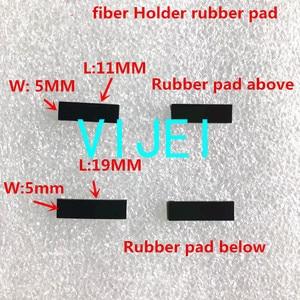 Image 1 - FSM 60S 60R 22S FSM 70S FSM 80S 62S 19S 12S 70R Fiber fusion splicer Fiber holder rubber pad / gasket/Rubber gasket Rubber mat