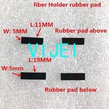 FSM 60S 60R 22S FSM 70S FSM 80S 62S 19S 12S 70R الألياف الانصهار جهاز الربط الألياف حامل وسادة مطاطية/طوقا/طوق من المطاط دواسة مطاطية