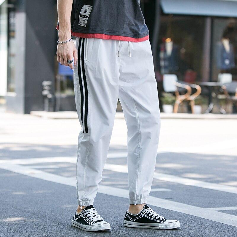 2020 Hot Sale Spring Autumn Brand Jogging Trousers Male Fit Fashion Sweatpants Quick Dry Pants For Men Joggers Casual Pants Mens