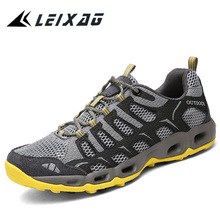 LEIXAG Men Running Shoes Outdoor Sports Shoes