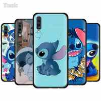 Artoon Lilo Stich Ohana Case for Samsung Galaxy A50 A51 A71 A10 A20 A30 A40 A70 S A80 A90 5G Black Silicone Phone Cover Shell