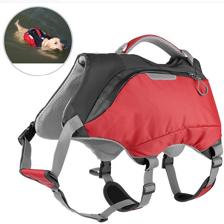Pet Nursing Swimming Life Jacket Even Dog Backpack Dual Purpose New Style Pet Bag Medium sized Dogs Nursing Backpack Pet Pack
