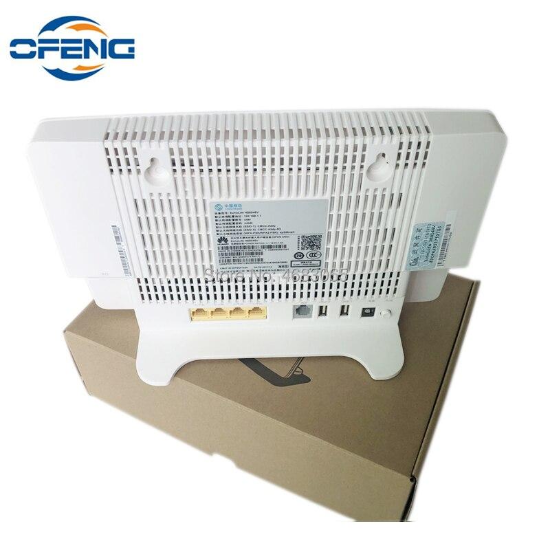 Livraison gratuite Huawei HG8546V GPON routeur ONU 4GE + 1TEL + 2USB + WIFI même fonction que HG8245H HG8240H HG8245Q terminal réseau optique