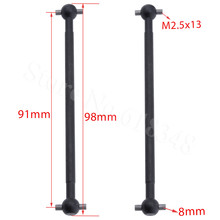 2pcs Steel Metal Dogbone Drive Shaft For RC 1/10 Electric Himoto E10XT E10XTL Ka