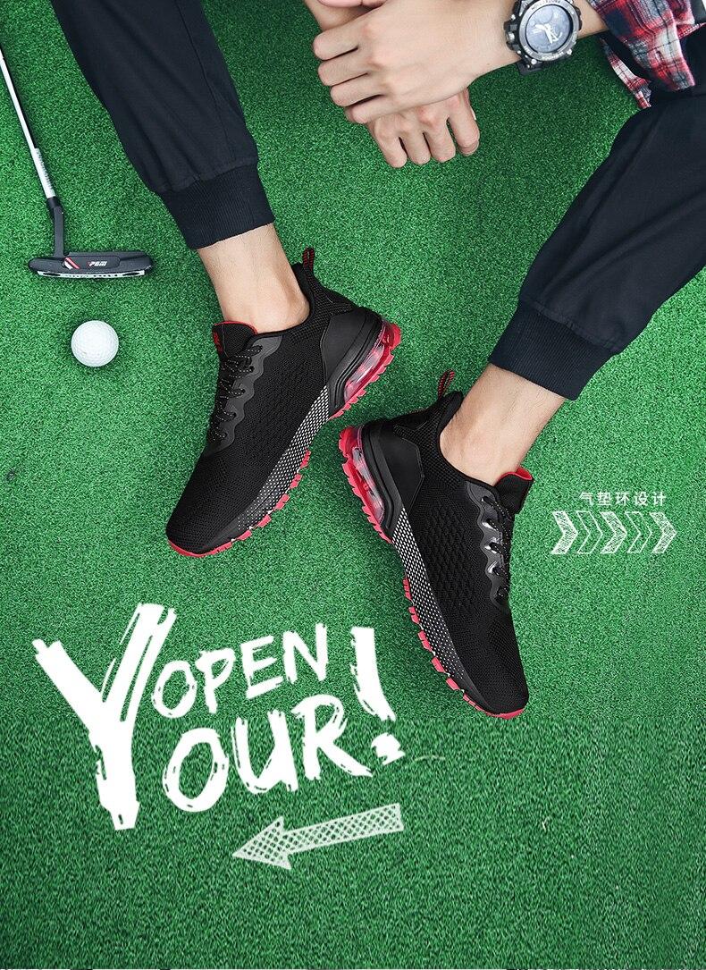 esportivos para golfista tamanho grande 39-47 tênis de golfe de alta qualidade