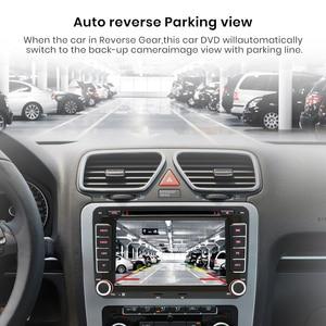 Image 4 - AWESAFE 2 Din 7 inch Car DVD GPS Radio Player For Volkswagen VW golf 5 6 touran passat B6 B7 sharan JATTA Skoda Seat Autoradio