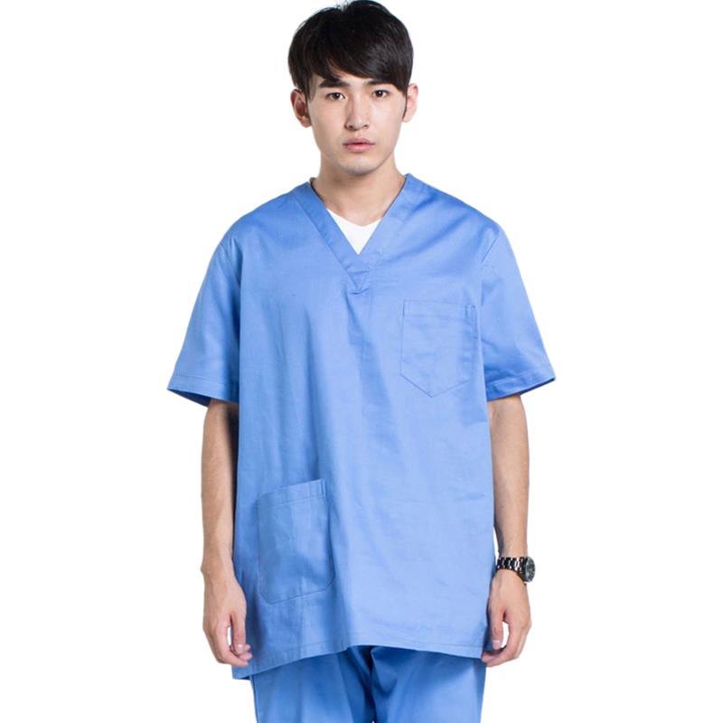 2020 New Fashion Medical Suit Lab Coat Women Hospital Scrub Uniforms Tops Design Slim Fit Breathable Medical Uniform Wholesale