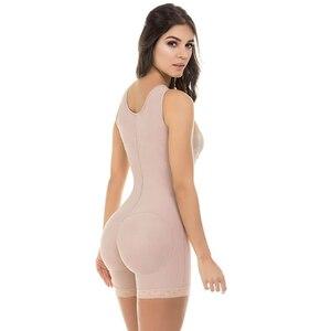 Image 3 - Body adelgazante de busto abierto para mujer, Fajas y modeladores de cuerpo colombianos, moldeadores de cuerpo S 6XL en 3 colores